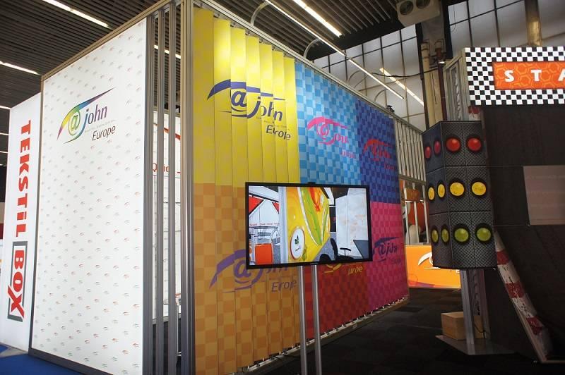 Aluminum profile trade show exhibition truss