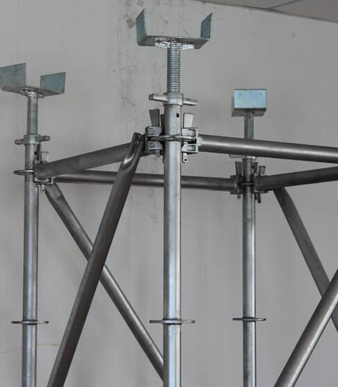 Universal jack base U-head type for scaffolding support system