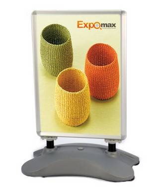 A1 Snap Outdoor Poster Display Stand (E13A01)
