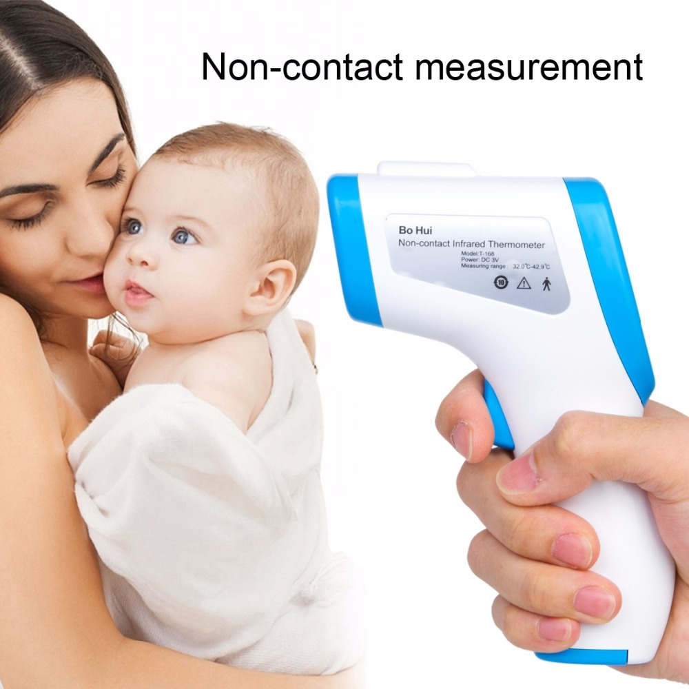 T-168 IR Infrared Thermometer Forehead Surface Digital Non-contact Electronic Thermometer