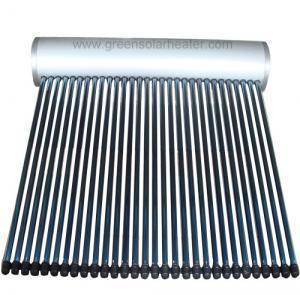 Integrated Solar Water Heater with Coil