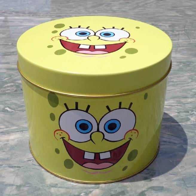 gift box, steel can, round box