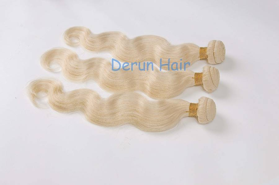 100% virgin human hair extension high quality low price