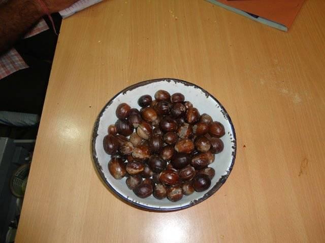 Nutmeg with shells