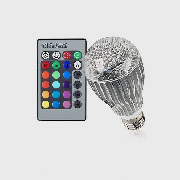CE & RoHs approved led rgb bulb light High efficient with good price RGB bulb