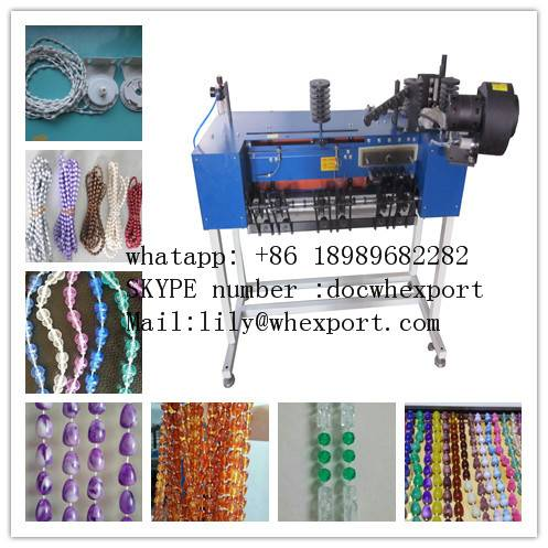 plastic jewelry Roller Blinds beads curtain Ball Chain making Machine