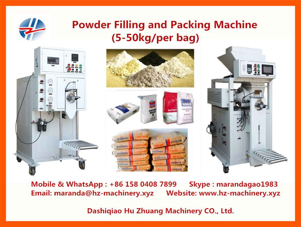 Filling Machine ; 5-50 KG Automatic Weighing and Packaging Machine