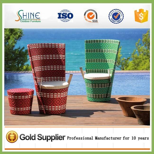Hot Sale Garden High Back Chair Set SFM3-20150525-10