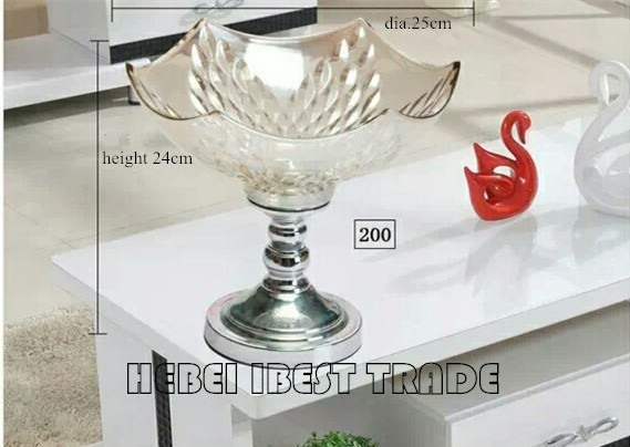 Sell Glass Fruit Plate/holder in European style