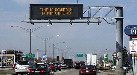 LED Transportation Sign