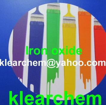 Iron Oxide Red/Yellow/Blue/Black/Green