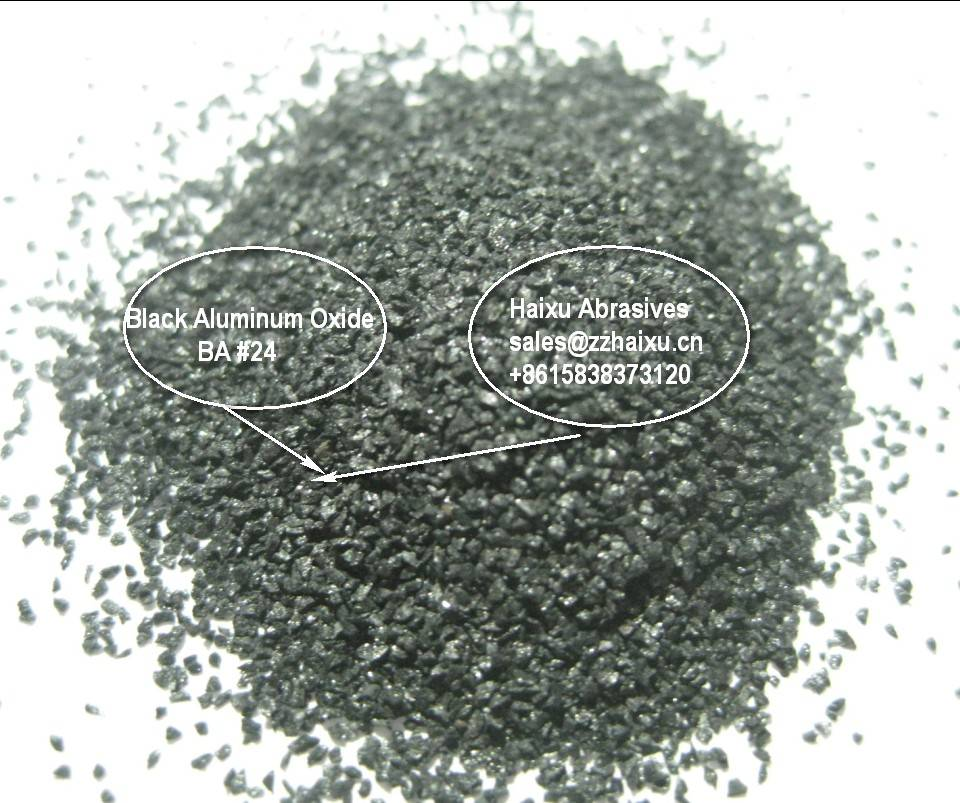 Black fused aluminum oxide