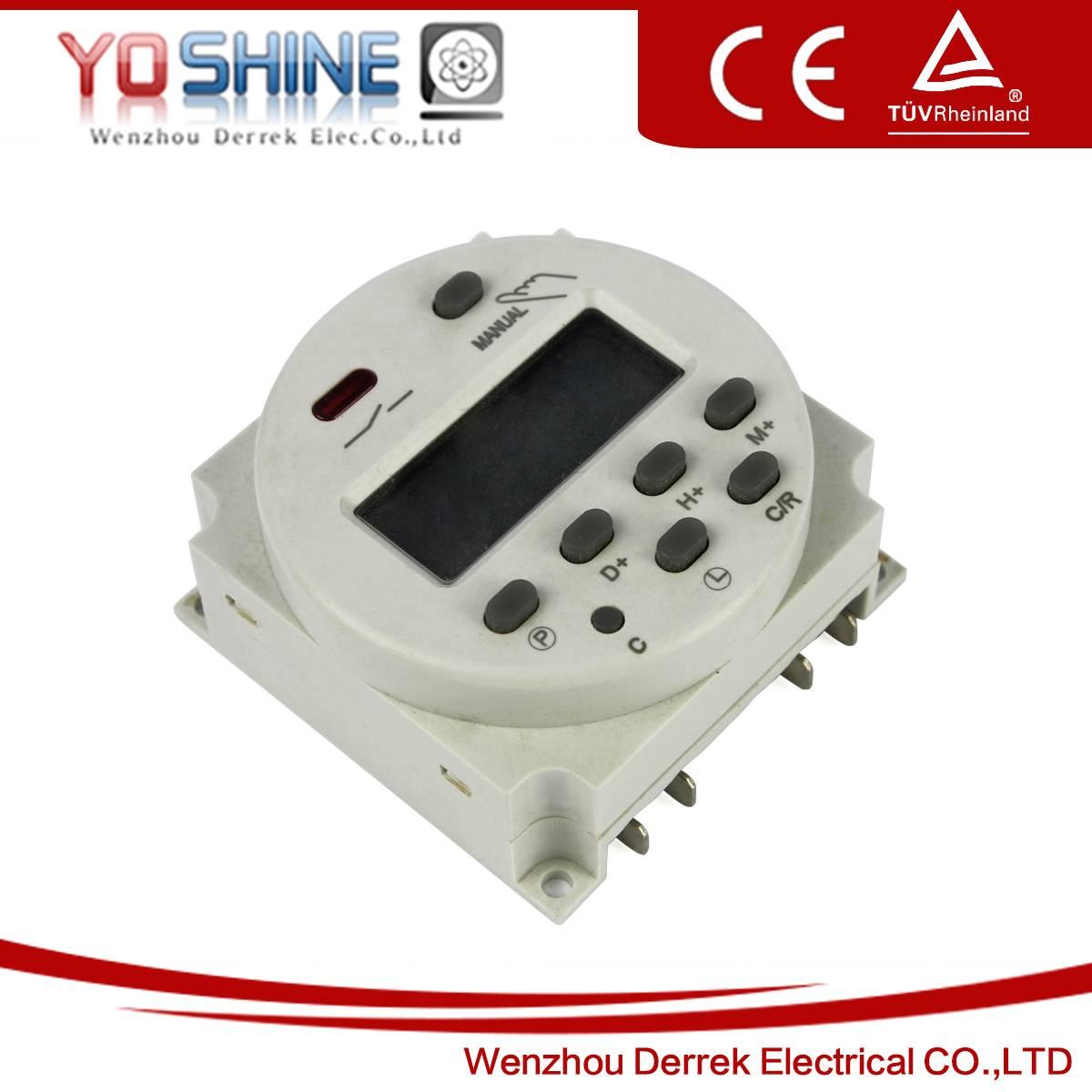 AC220V DC24V daily weekly digital timer