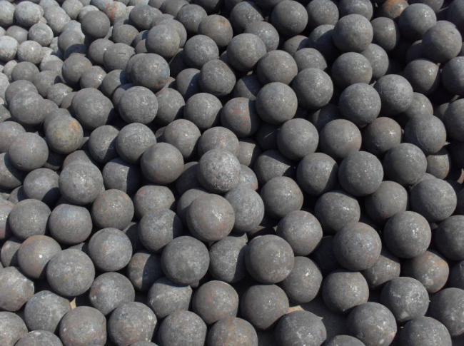 forged grinding media steel balls - purely forged good quality