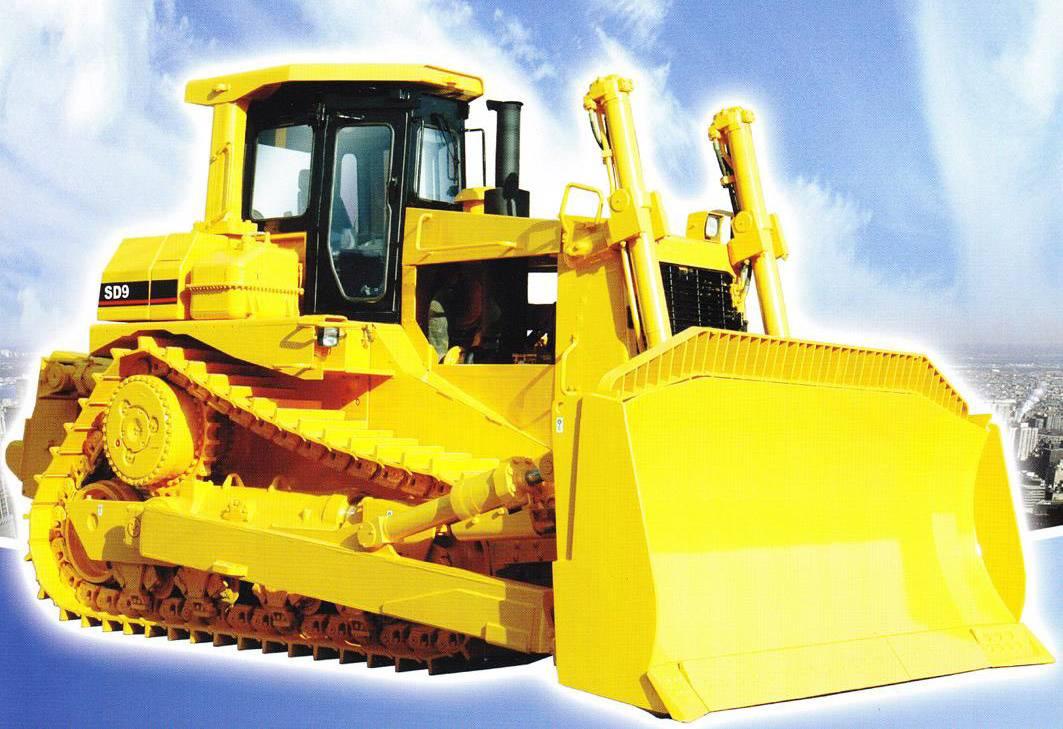 Hydraulic driven, crawler bulldozer, similar to CATERPILLAR technology: