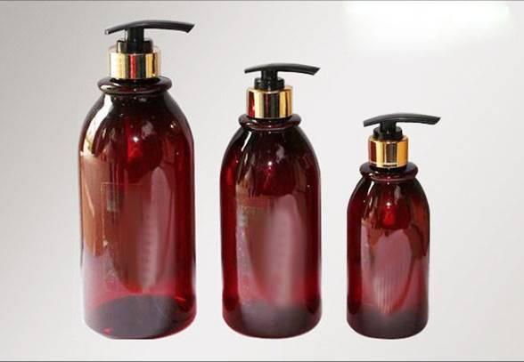 500ml Plastic Bottles, slopping round PET bottles
