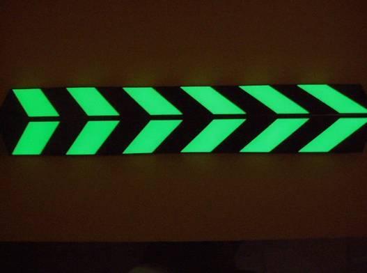 Glow in the dark Safety Sign