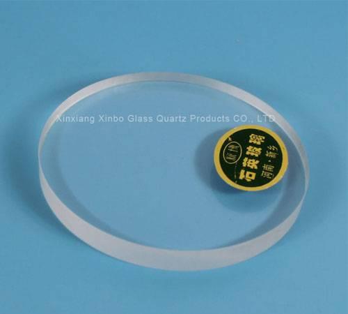 top quality toughtened quartz glass sheet