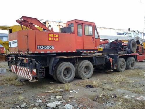 Used Tadano TG500E truck crane
