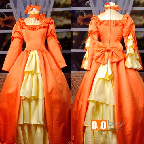 Selling Black Butler Ciel's Fiancee Wife Elizabeth Private Anime Cosplay Costume