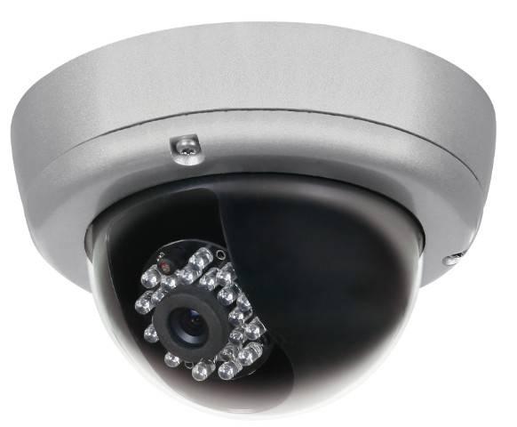 CE,FCC Certificate, IR vandalproof dome camera, CCTV Dome camera FBID11-23-4-9