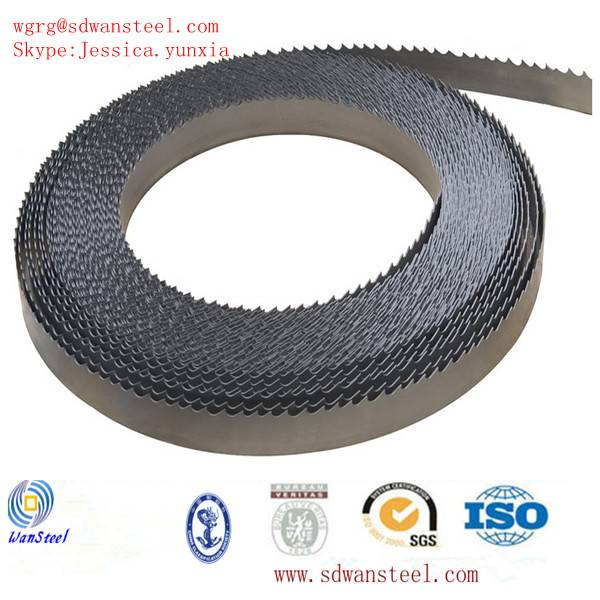 Bi-metal steel strip