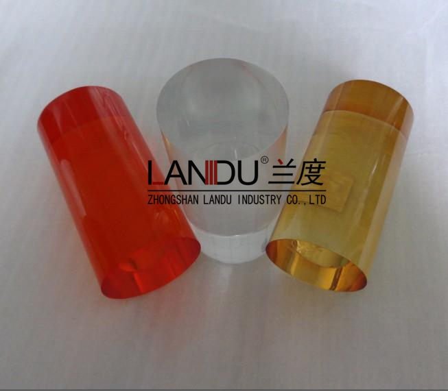 High quality different size colorful acrylic round rods acrylic round bars acrylic round sticks