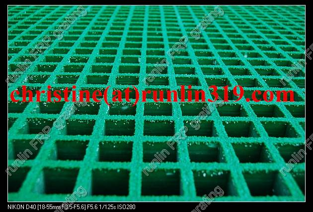 Access Ladders to Loading Docks fiber grating