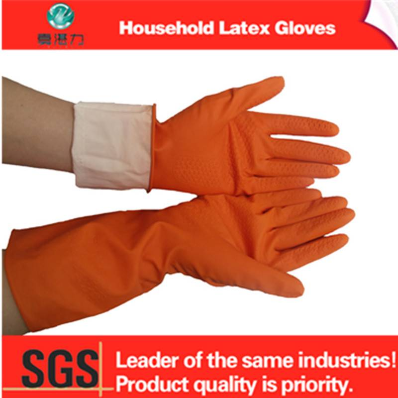 extra long anti-oil latex gloves wholesale