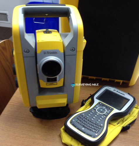 used Trimble S3 Robotic Reflectorless Total Station TSC3 Controller