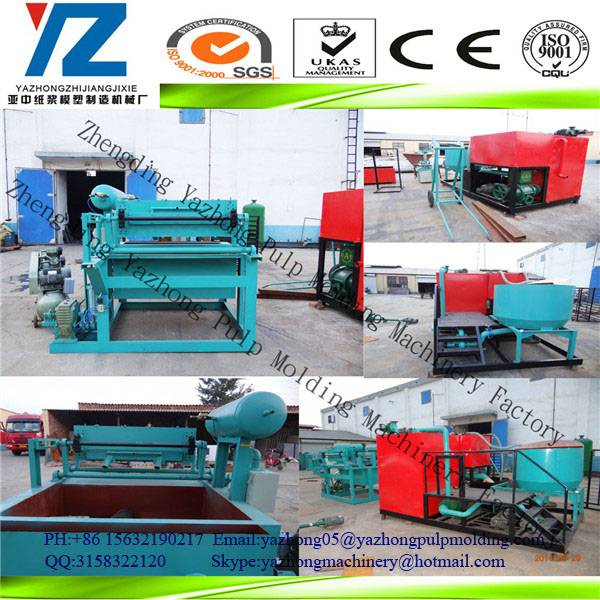 offer quipment for Paper Egg Tray Making/ Paper Pulp Egg Tray Molding Machine