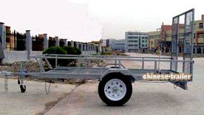 ATV trailer DOT/Emark, Outer Bed size:  2800x1500x300 mm (3000mm at the top)