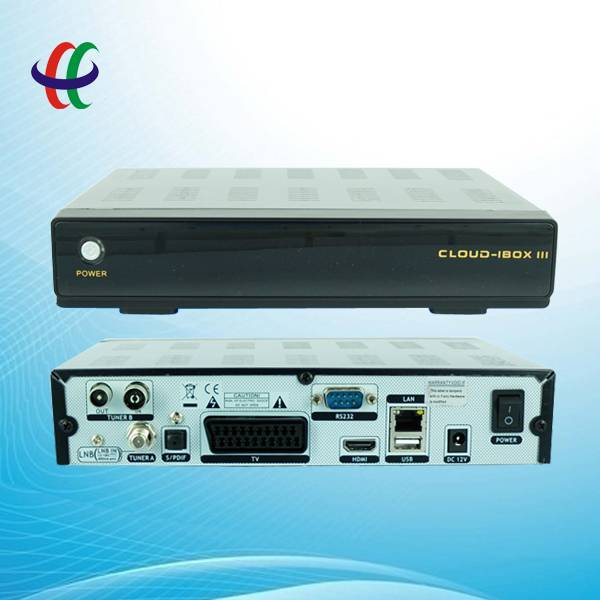 100% origina Cloud ibox iii Digital Satellite TV Receiver 3-IN-1 Tuner DVB-S/S2 +DVB-C +DVB-T Cloud