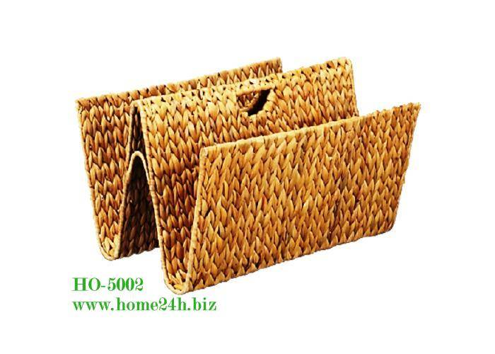Water hyacinth rack for magazine, competitive price & high quality