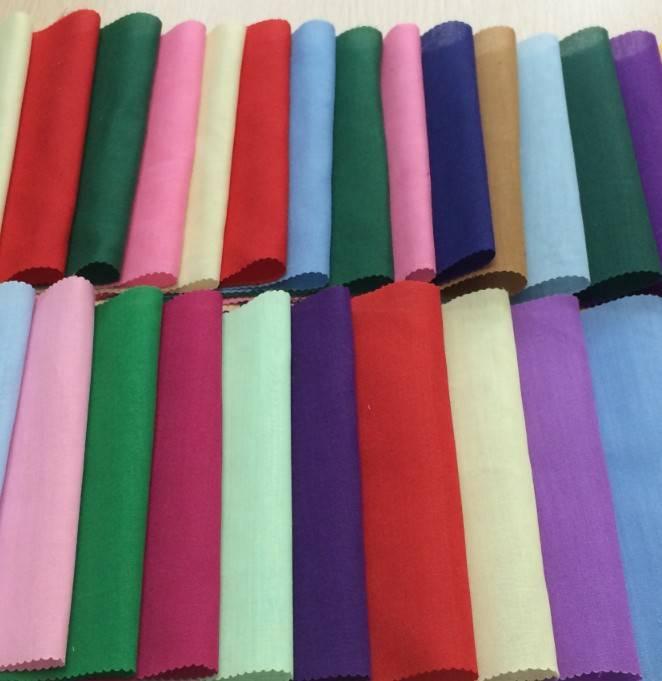 Poplin 65%Polyester/35%Cotton Dyed Pocketing Fabric