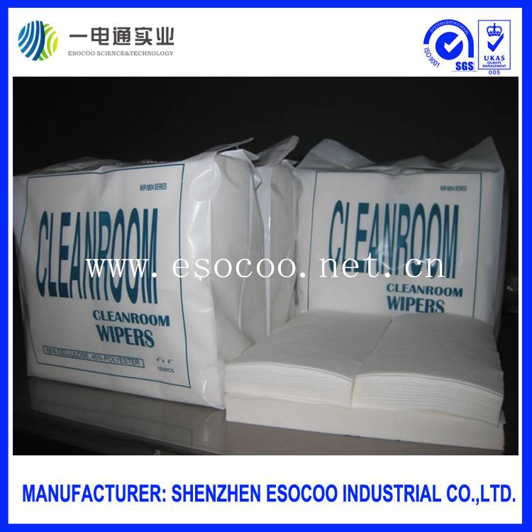 Nonwoven fabric cleanroom wipers paper for China wholesale