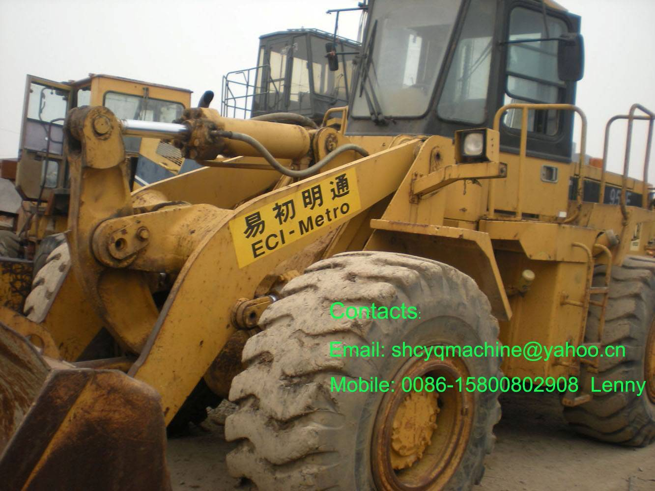 loader CAT 950F, USED caterpillar loader