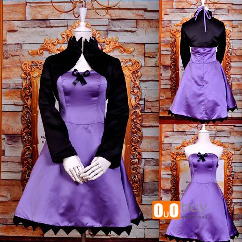 Selling Anime Cosplay Costume Darker Than Black Kirsi Cocktail Cosplay Costume Dress