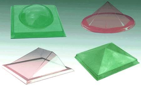 Polycarbonate lighting shield