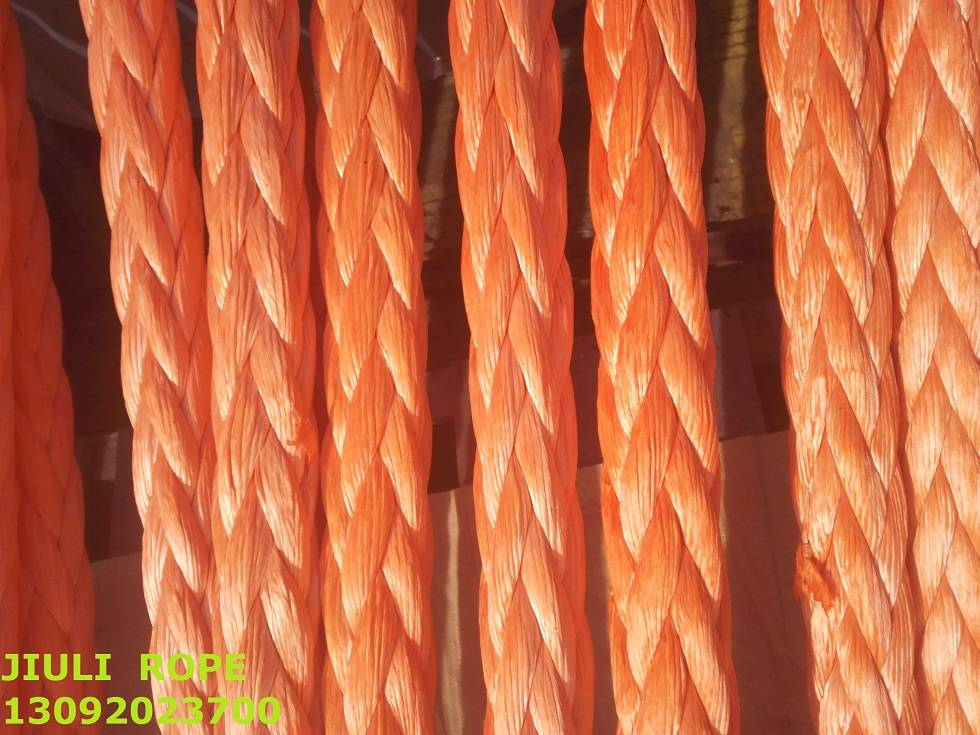 UHMWPE 12 strand mooring rope
