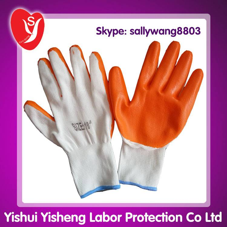 Nitrile Coated Safety Hand Gloves