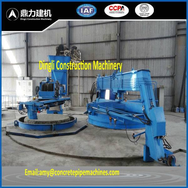 Vertical Vibration Casting Concrete Pipe Making Machine