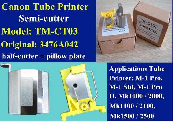 cutter set 3476A042 Semi-cutter For cable ID printer M-1 Pro,M-1 Std,M-1 ProII,Mk1000,Mk2000,Mk1100,
