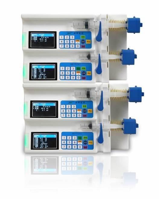 Multi-channel Syringe Pump /Syring Infusion Pump 500IIIA