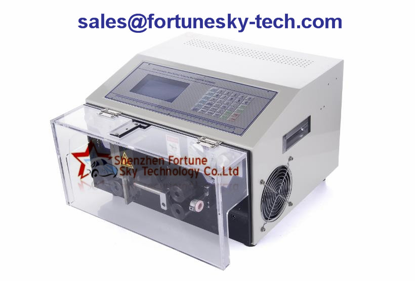 0.1-10 SQMM Fully Automatic Wire Stripping Machine