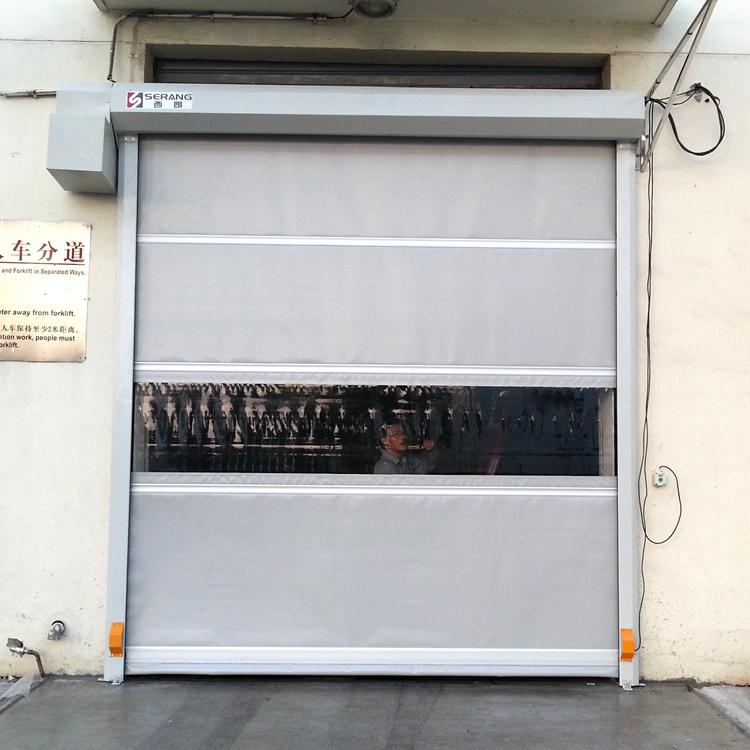 new industrial workshop pvc roller shutter high speed doors