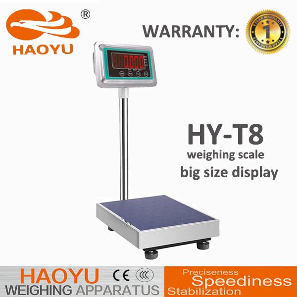 Digital ACS Series Price Computing Platform Weight Scale 300KG 100G