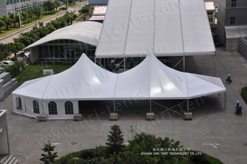 Mixed High Peak Party Tent / PVC Tent/High Peak Tents for Sale