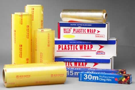 9mic Food Grade PVC Cling Film for Food Pack