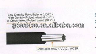 aerial bundled cable wire 1 core